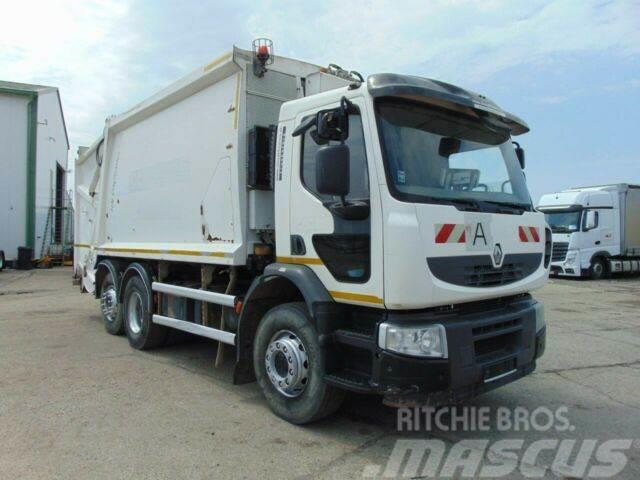 Renault PREMIUM 320 garbage truck 6x2 vin 834