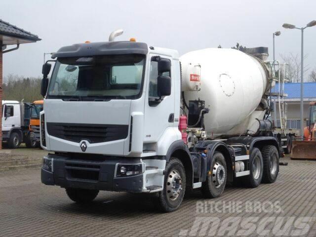 Renault Premium 380 8x4 / Klima / Mischer 9m³