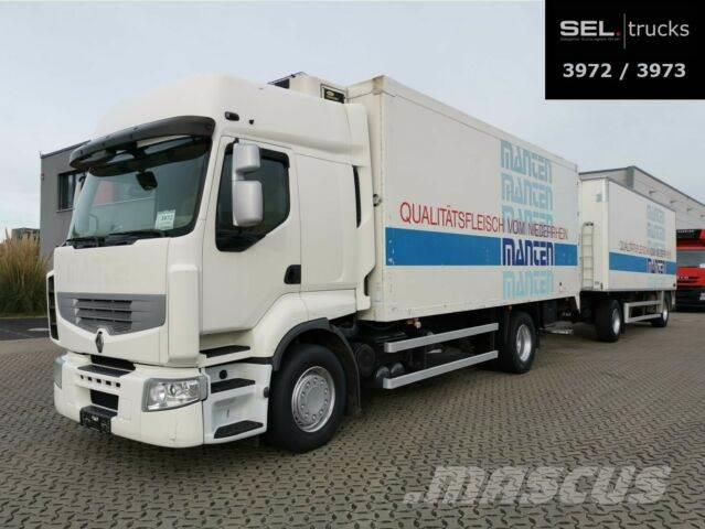 Renault Premium/Meat/Rohr/Fleischhangbahnen/with trailer