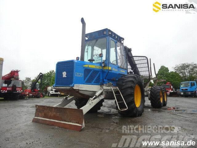 Rottne SMV Rapid 6WD/Klemmbank/Forstketten/Klim