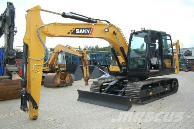 Sany SY135C - 14 to. Kettenbagger + CW40