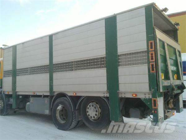 Scania 114 6x2 Schweinetransp Doppelstock