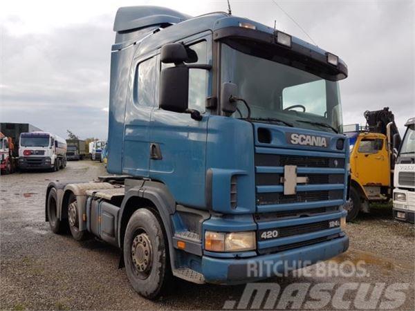 Scania 124 420 6X2 ADR Manual