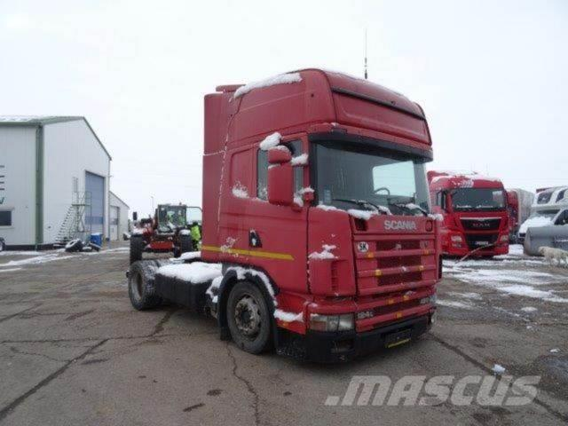 Scania 124 420 LOWDECK,without engine,gerbox and papers