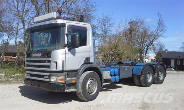 Scania 124 6x4 G 33 Tonne Blatt Manual Cubos
