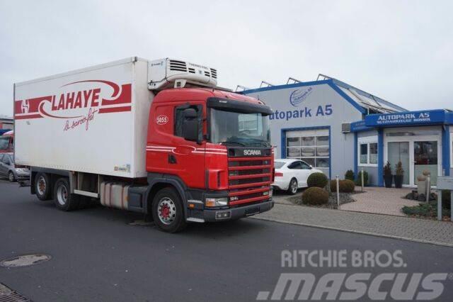 Scania 124L 420 Kühlkoffer Tiefkühl Fleischbahnen