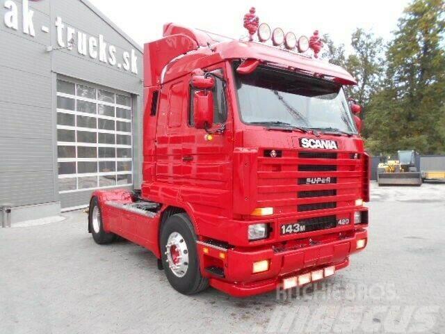 Scania 143 V8 420 STREAMLINE