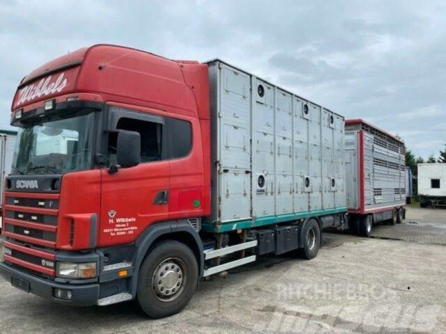 Scania 164/580 Topline 2 Stock V8 Pezzaioli Anhänger