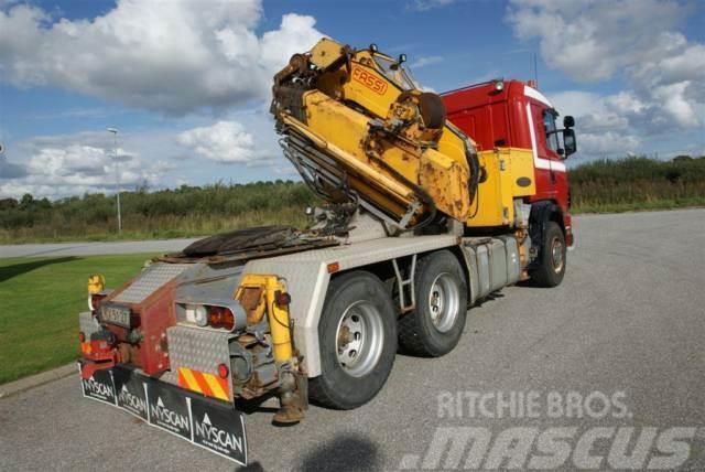 Scania 60 TM FASSI Kran