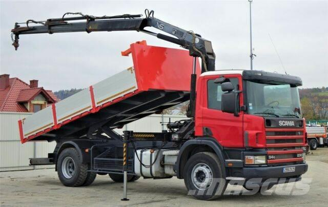 Scania 94 230 Kipper 5,40m +Kran**Topzustand