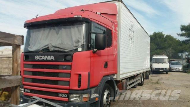 used scania -cv-r-94-lb-4x2-la-300 box trucks year  2001 price   10 376 for sale