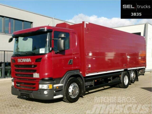 Scania G 320/ Lift-Lenkachse/ Ladebordw./ NAVI/ Kamera