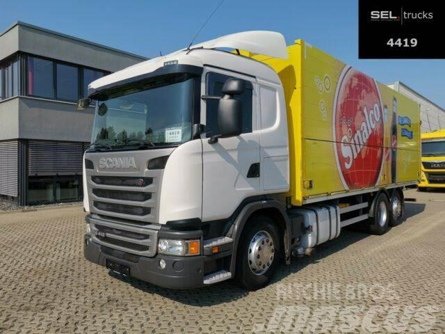 Scania G 410 / Retarder / Lenkachse / Ladebordwand