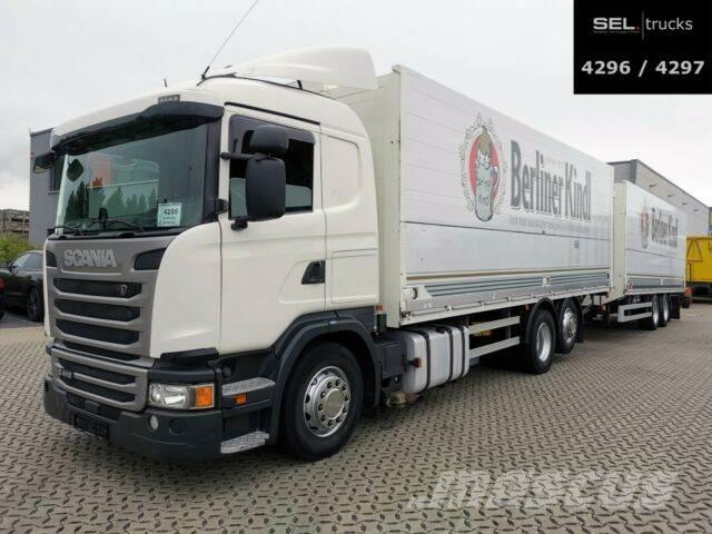 Scania G 410 / Retarder / Lift-Lenkachse / with trailer