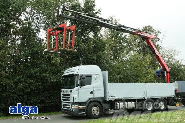 Scania G 440 6x2, Kran Fassi F240ASXP, Retarder, klima