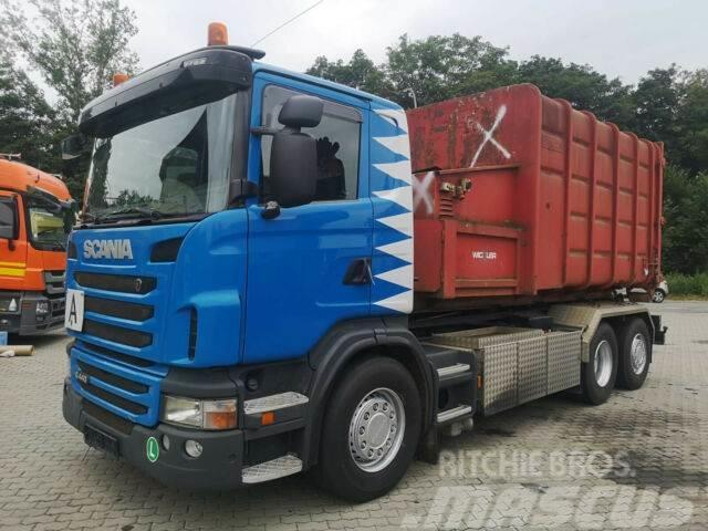 Scania G 440 / AC Lift & lenkachse/7 Meter