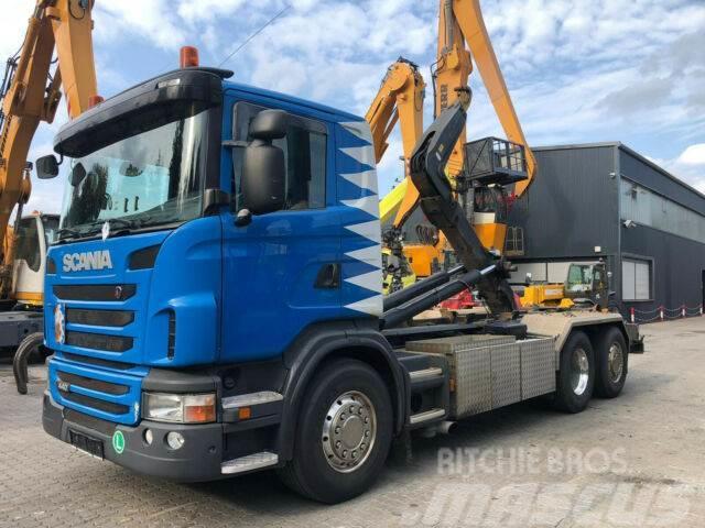 Scania G 440 LB / AC / Lift & Lenkachse / 6x2 / Hiab
