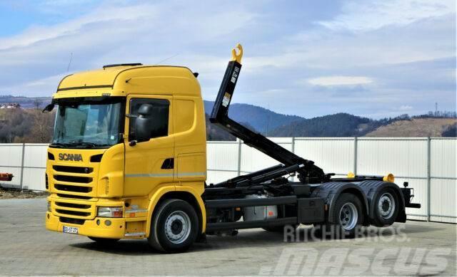 Scania G380 Abrollkipper 5,80m *6x2* Top Zustand