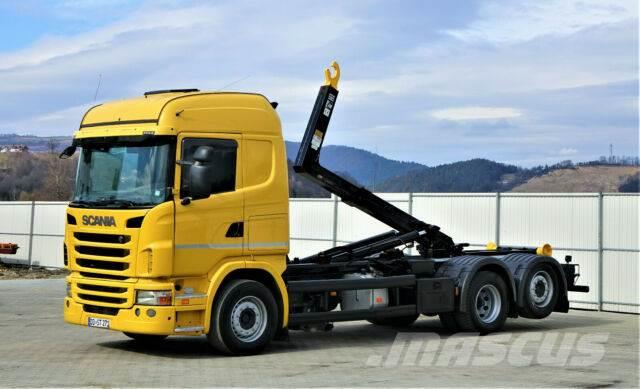 Scania G380 Abrollkipper 5,80m *6x2* Top Zustand