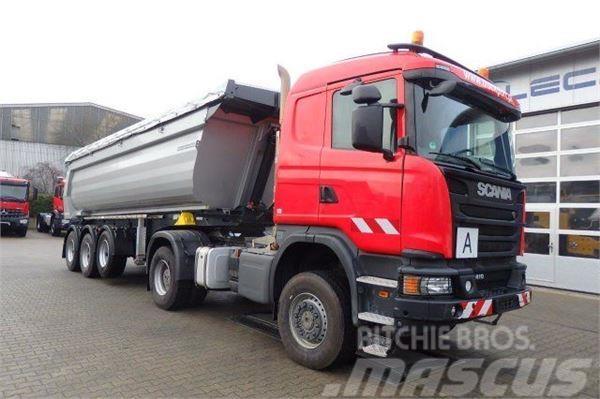 Scania G410 4x4 Euro 6 SZM Kipphydraulik + Meiller