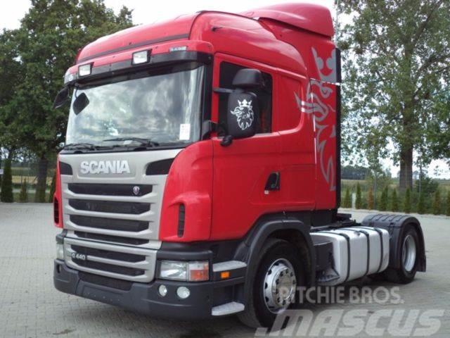 Scania G440 4x2 EURO 5 SZM Blatt/Luft Manual