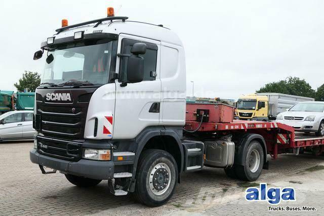 Scania G440CA4x4HHZ, Allrad, Retarder, Motor überholt