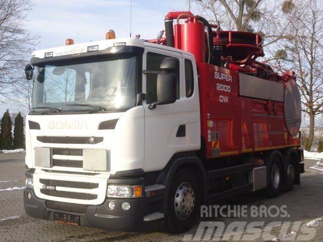 Scania G450 6x2 E6 Druckwagen Wiedemann S2000 OW ADR