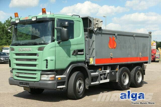 Scania G480CB6x4, Mulde 17m³, Plane, 16-Schalter,Euro 4