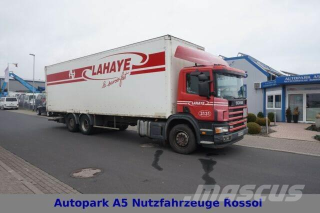 Scania Koffer 114L 340 6x2 Lift Lenkachse Klima