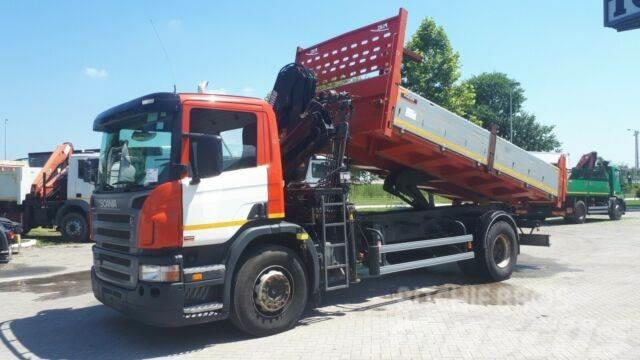 Scania p 230 hiab 122 b2 kran
