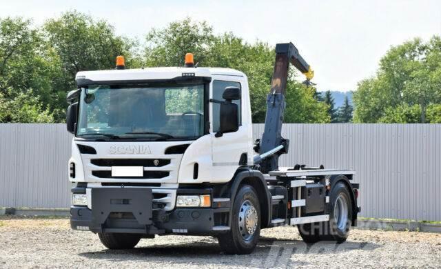Scania P 250 Abrollkipper 3,80m *4x2* Top Zustand !