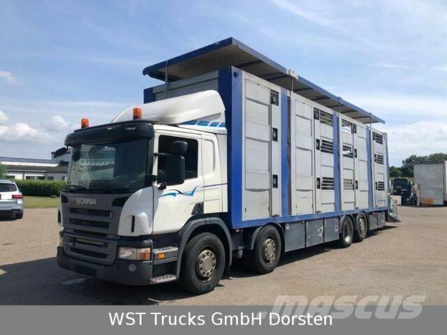 Scania P 380 Menke Doppelstock 8,10m Hubdach
