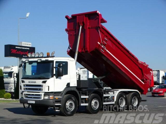 Scania P 400 / 8X4 / END DUMP KIPPER / MANUAL / EURO 5