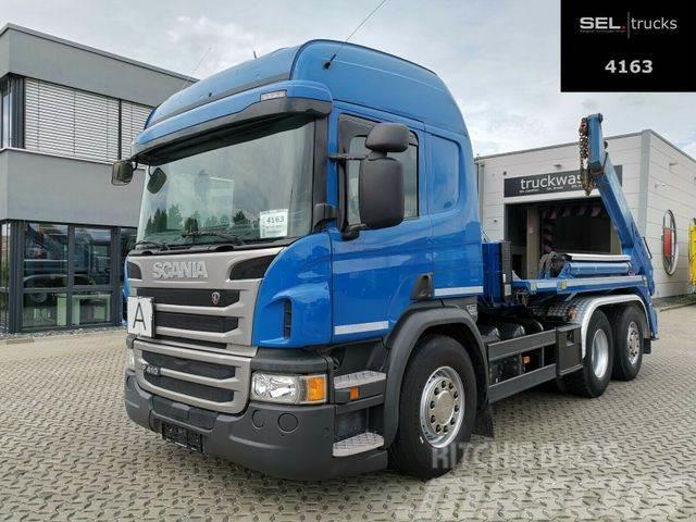 Scania P 410 /Lenk-Liftachse /Retarder /Meiller Kipper