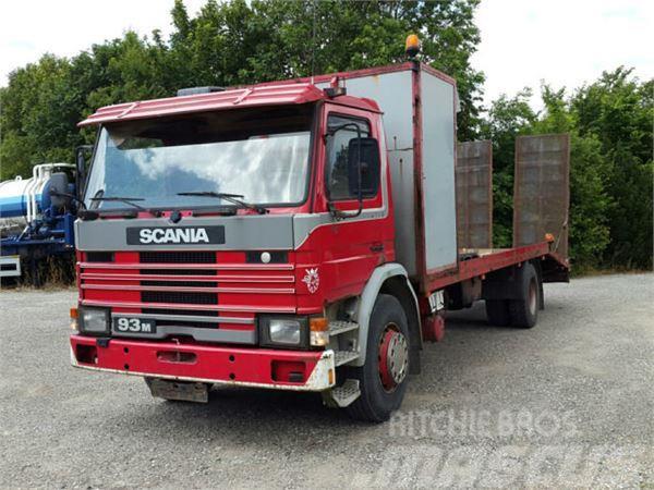 Scania P 93 Maschinentransporter Springs Manuel