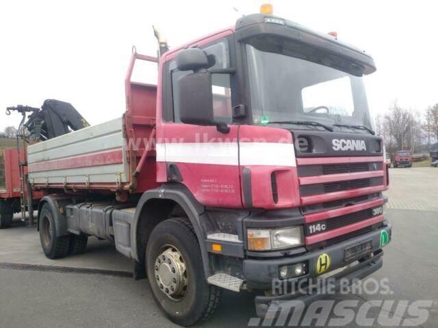 Scania P114-380 CB4x2HZ 2-S-Kipper KRAN PK15002 Partike