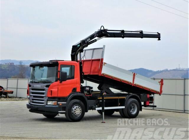 Scania P270 Kipper 5,00m +Kran**Topzustand