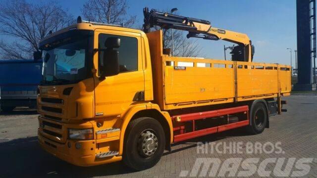 Scania p320 palfinger 12001/ GERMAN BREIF