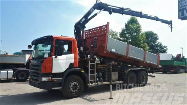 Scania P340 6X4 crane