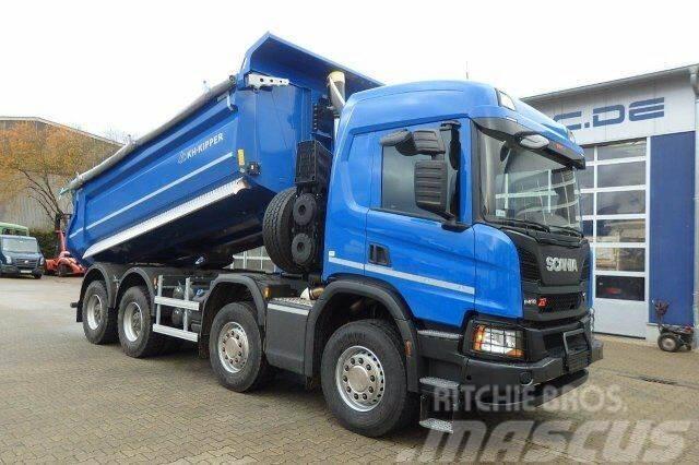 Scania P410 XT 8x4 EURO6 Muldenkipper - NEU!