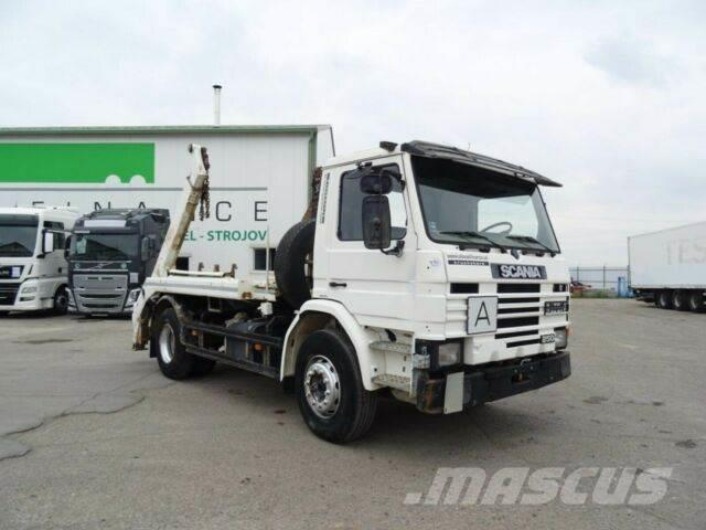 Scania PM 250 for containers, manual, vin 675