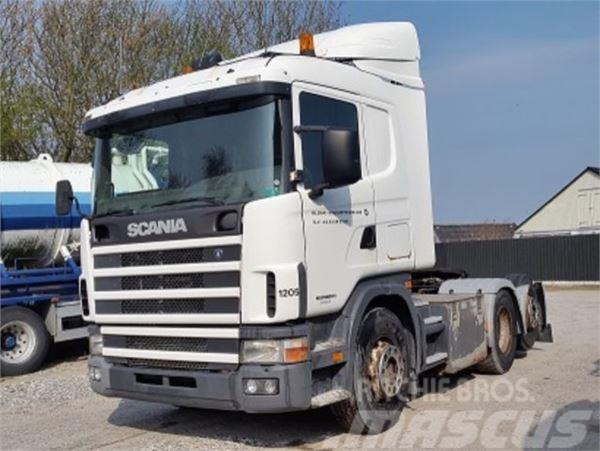 Scania R 124 420 ADR 6x2 Manual