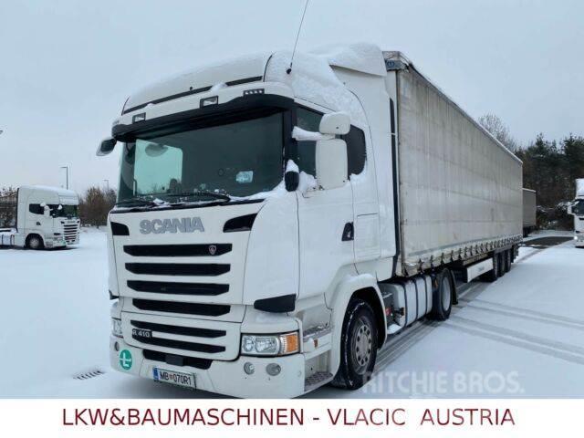 Scania R 410 Kompletzuge 30 Stk .mit Krone Auflieger