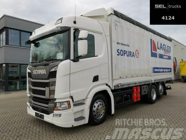 Scania R 410 / Retarder / Lenk-Liftachse / Ladebordwand