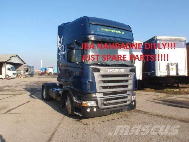 Scania R 420 Lowdeck:engine, gearbox