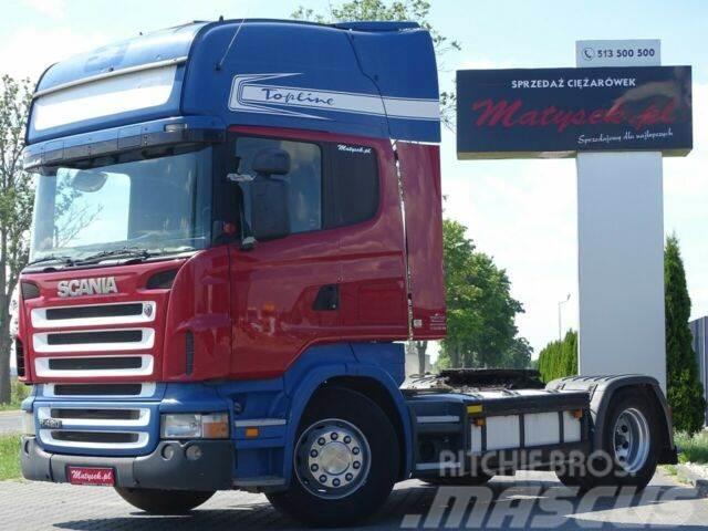 Scania R 420 / TOPLINE / HYDRAULIC SYSTEM/ OPTICRUSIE