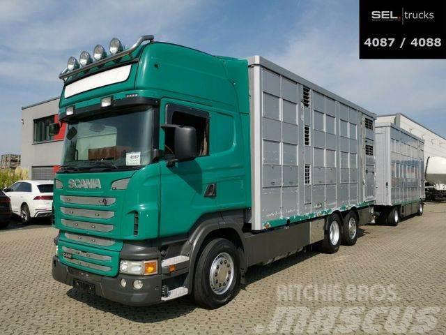 Scania R 440 / 3 Stock / Lenkachse / KOMPLETT