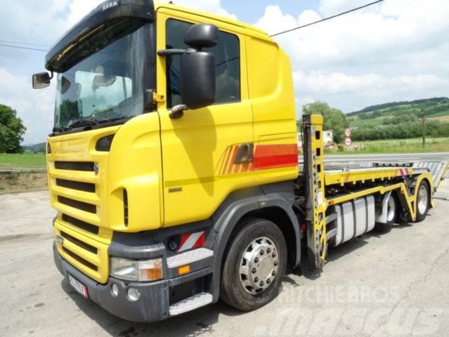 Scania R 440 Autotransporter German truck