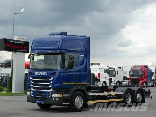 Scania R 450/6X2/BDF-7,2M/RETARDER/I-COOL/NAVI/