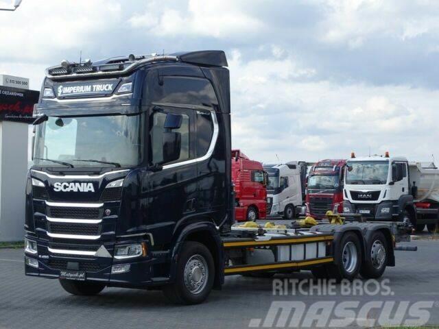 Scania R 450/6X2/BDF-7,3M/RETARDER/ACC/NAVI/12.2017